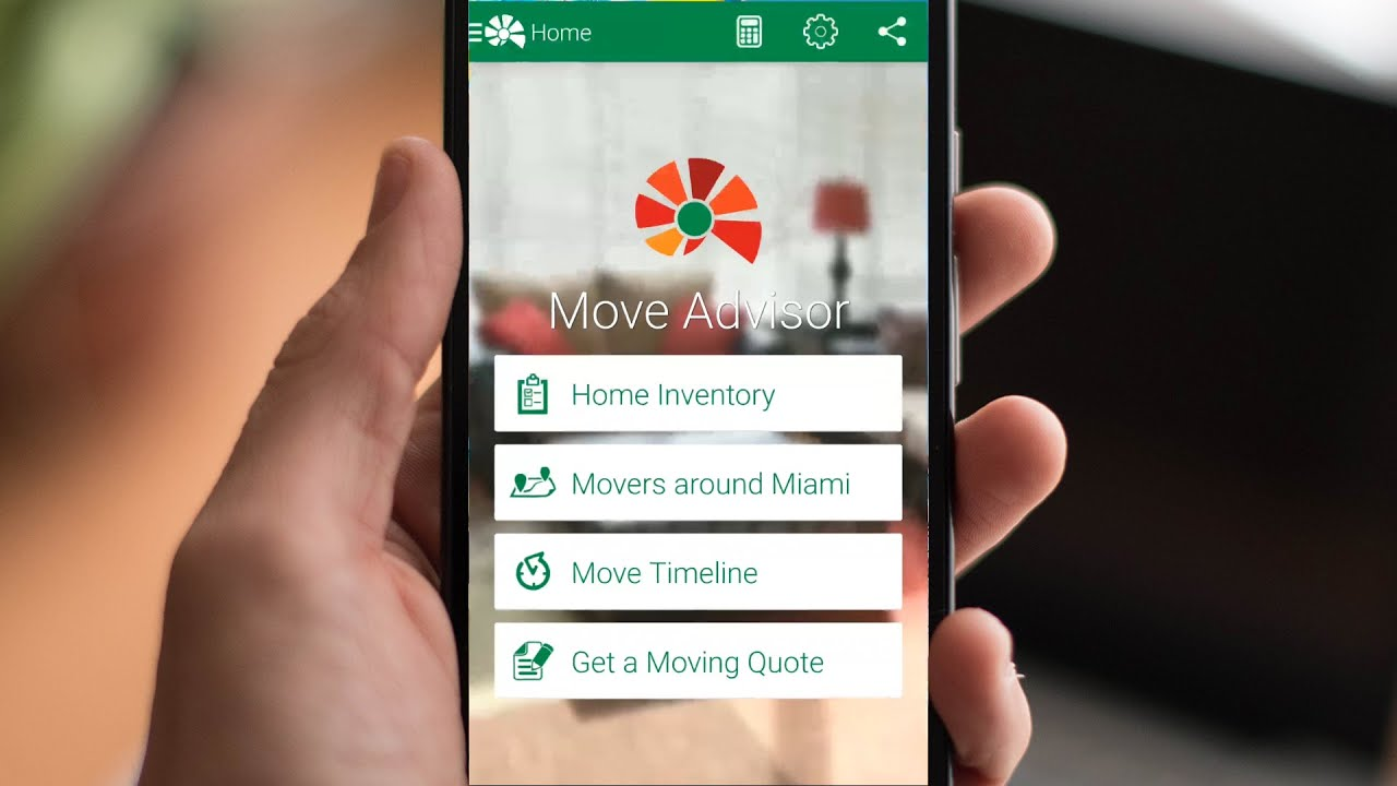 MoveAdvisor app helps organize stuff while relocating house
